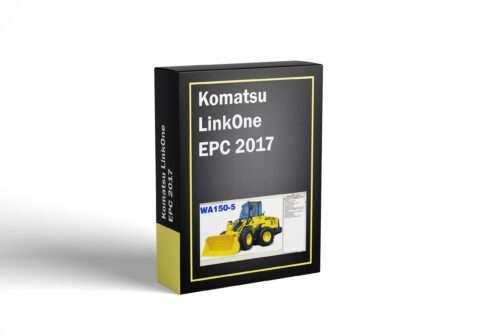 Komatsu LinkOne EPC 2017