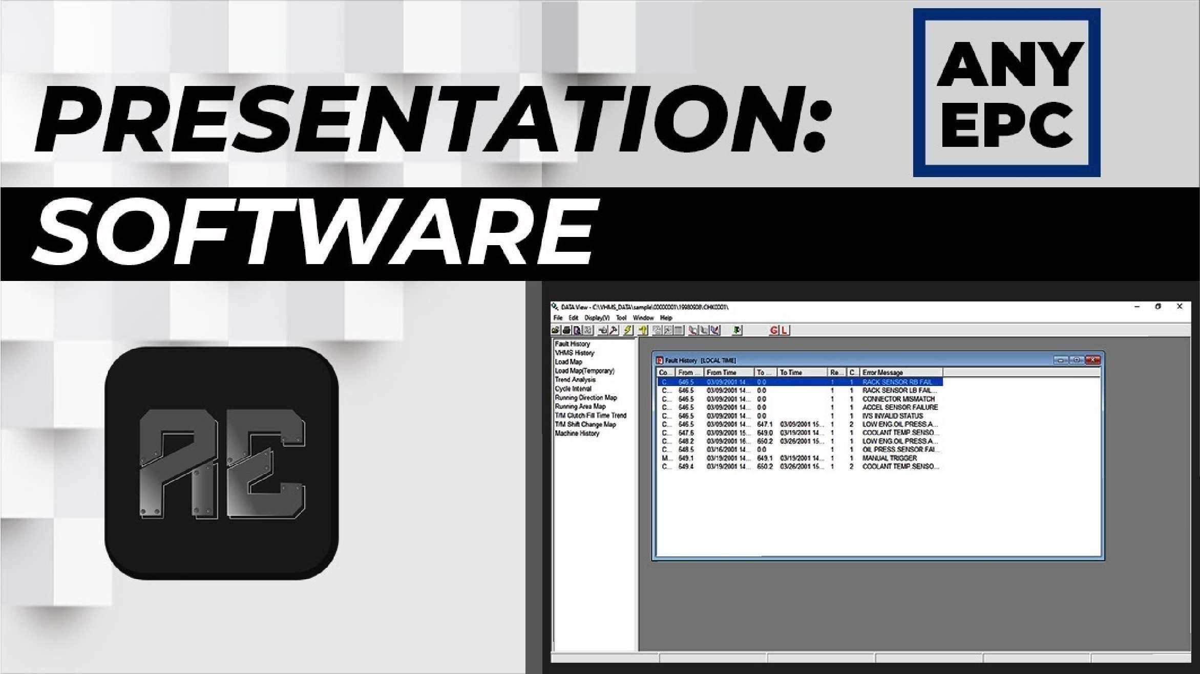 Komatsu VHMS Technical Analysis Tool Box 3.05 SS-01