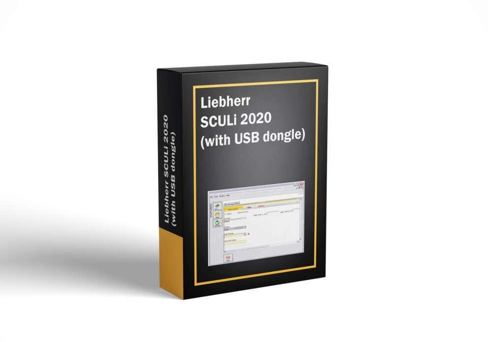 Liebherr SCULi 2020 (with USB dongle)