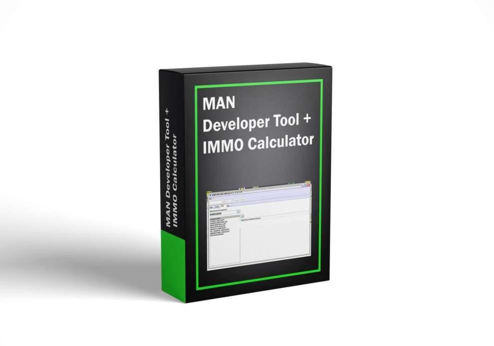 MAN Developer Tool + IMMO Calculator