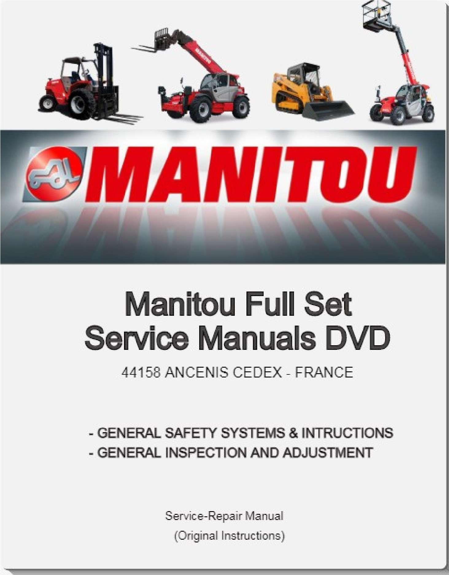 Manitou EPC + Service Manuals PDF SS-01