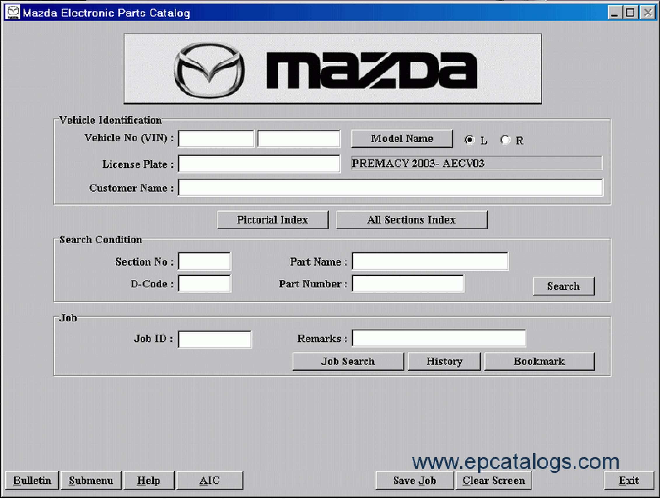 Mazda EPC SS-01