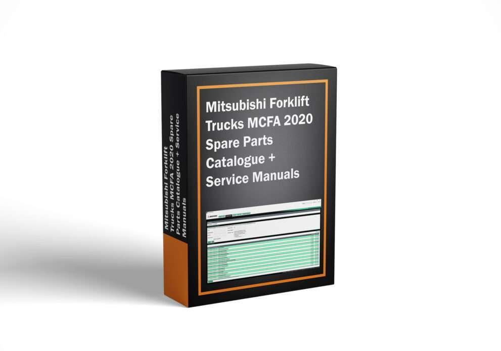 Mitsubishi Forklift Trucks MCFA 2020 Spare Parts Catalogue + Service Manuals