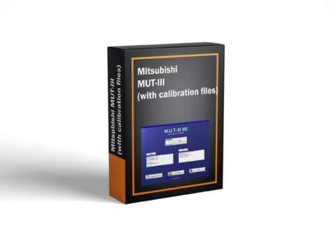 Mitsubishi MUT-III (with calibration files)