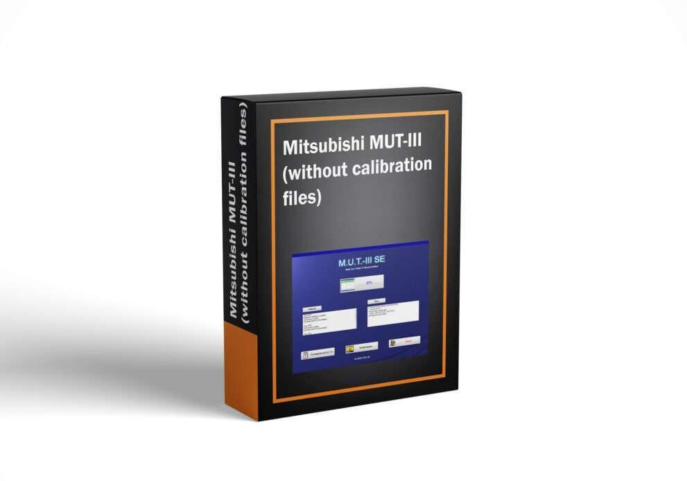 Mitsubishi MUT-III (without calibration files)