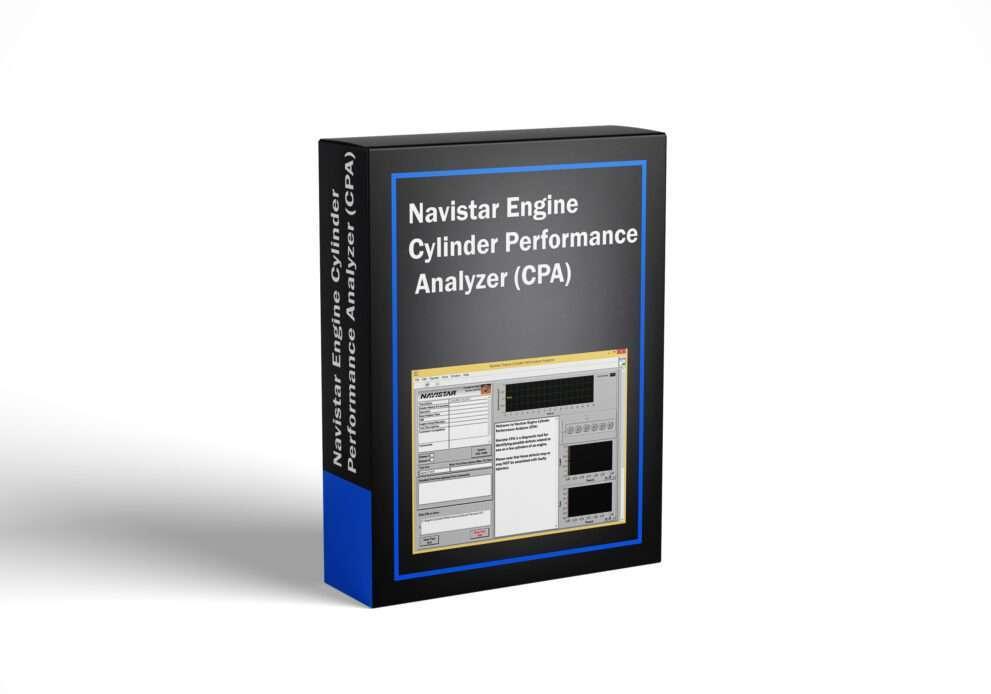 Navistar Engine Cylinder Performance Analyzer (CPA)