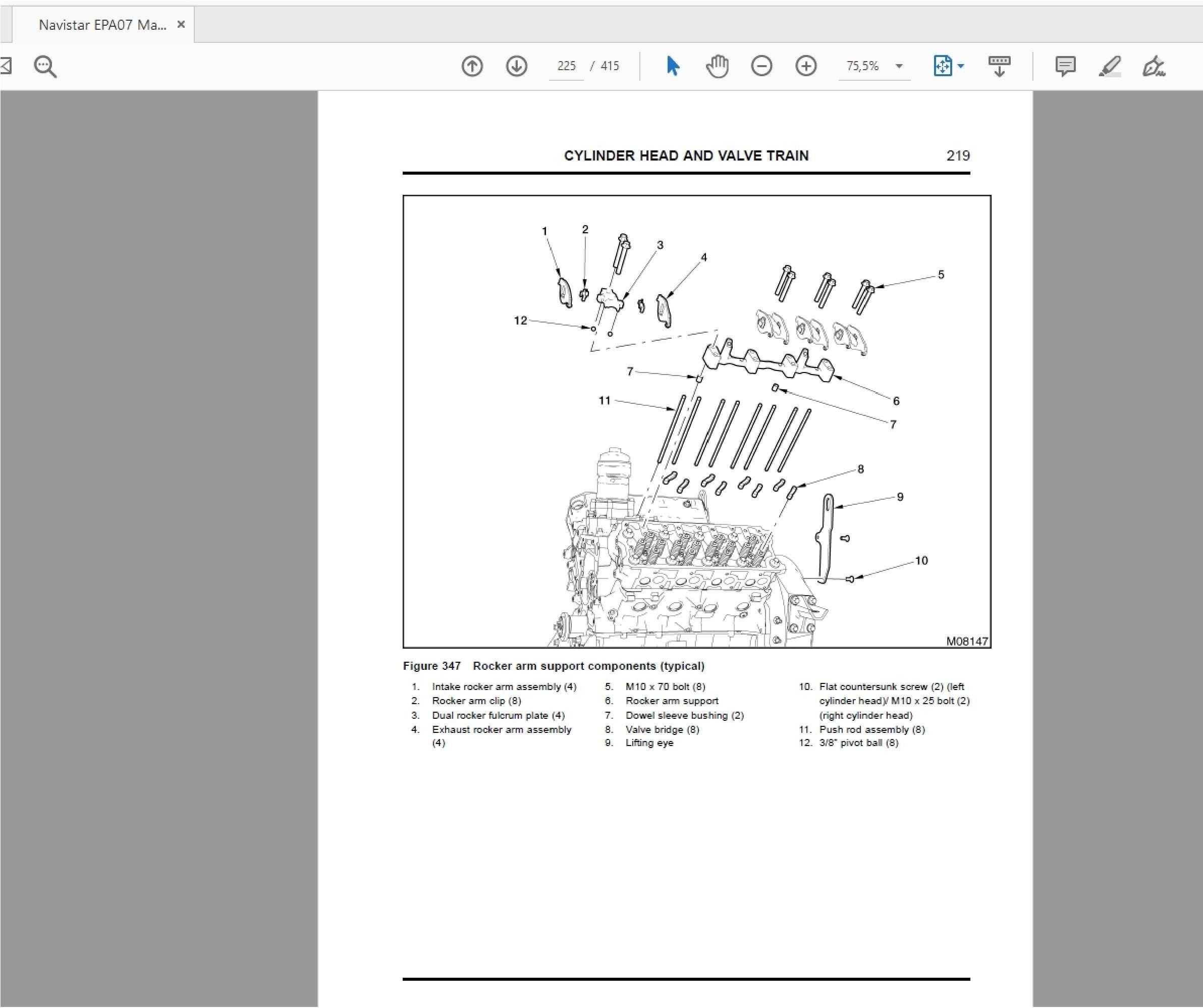 Navistar MaxxForce Diagnostic, service manuals SS-01