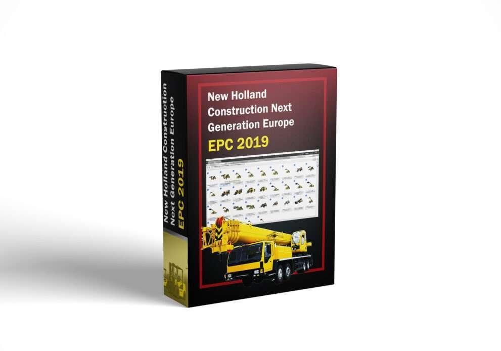 New Holland Construction Next Generation Europe EPC 2019