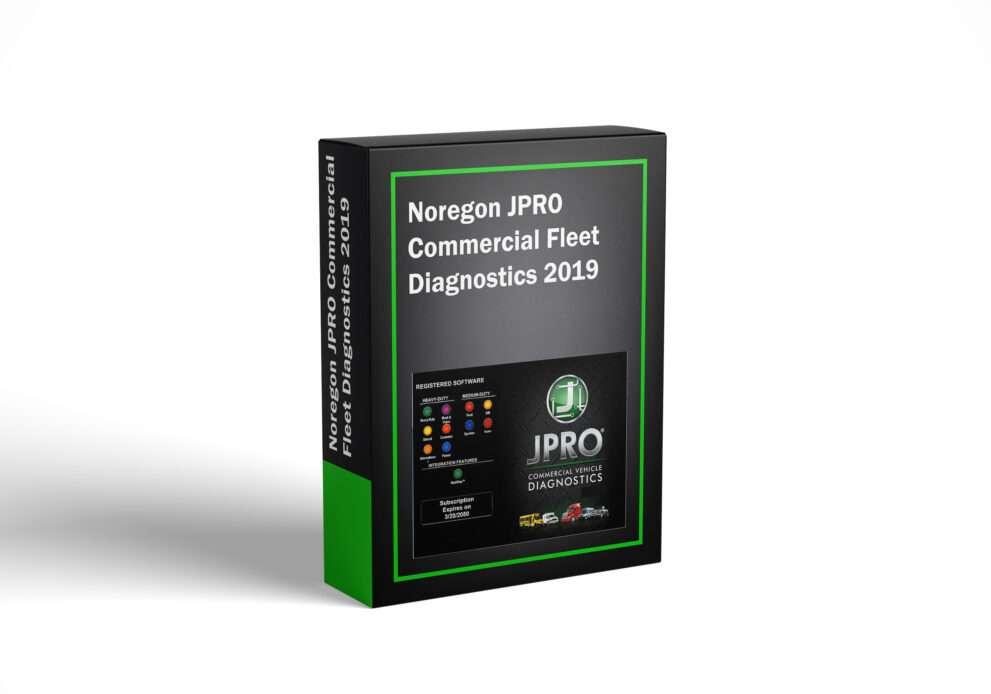 Noregon JPRO Commercial Fleet Diagnostics 2019