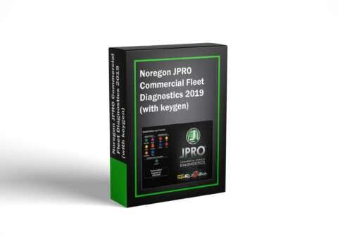Noregon JPRO Commercial Fleet Diagnostics 2019 (with keygen)