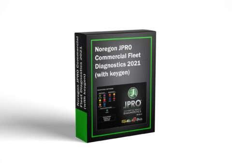Noregon JPRO Commercial Fleet Diagnostics 2021 (with keygen)