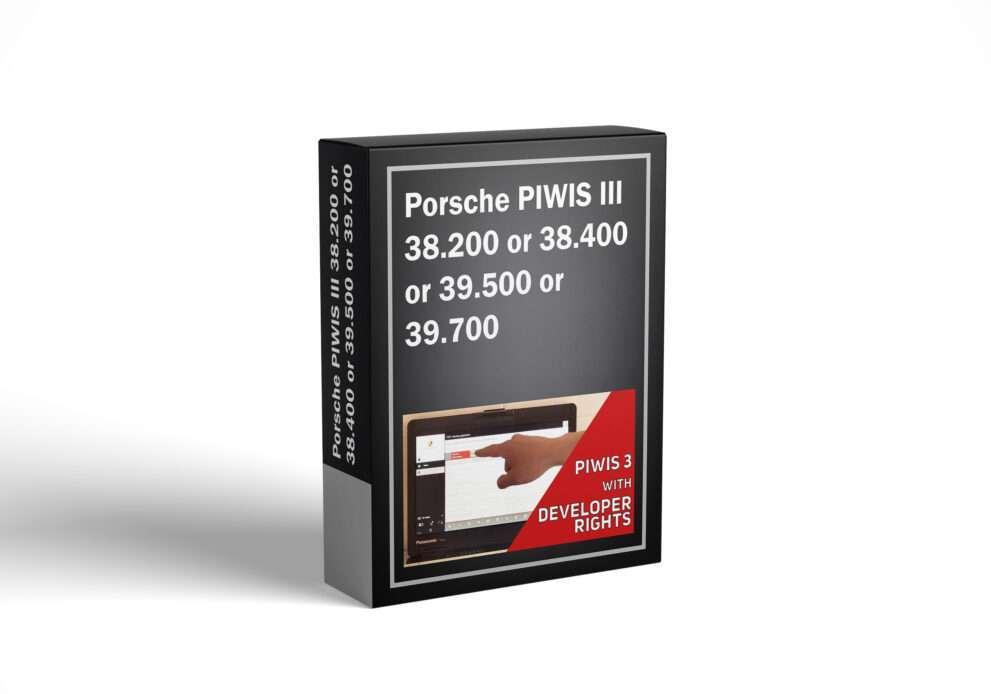 Porsche PIWIS III 38.200 or 38.400 or 39.500 or 39.700