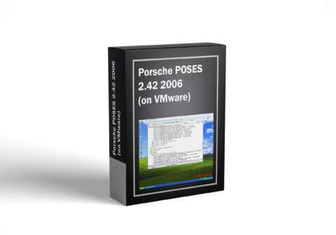 Porsche POSES 2.42 2006 (on VMware)