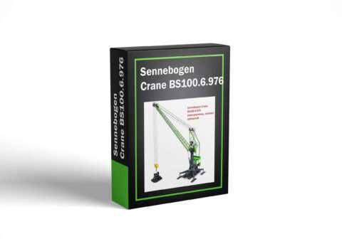 Sennebogen Crane BS100.6.976