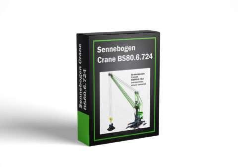 Sennebogen Crane BS80.6.724