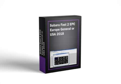 Subaru Fast 2 EPC Europe General or USA 2018