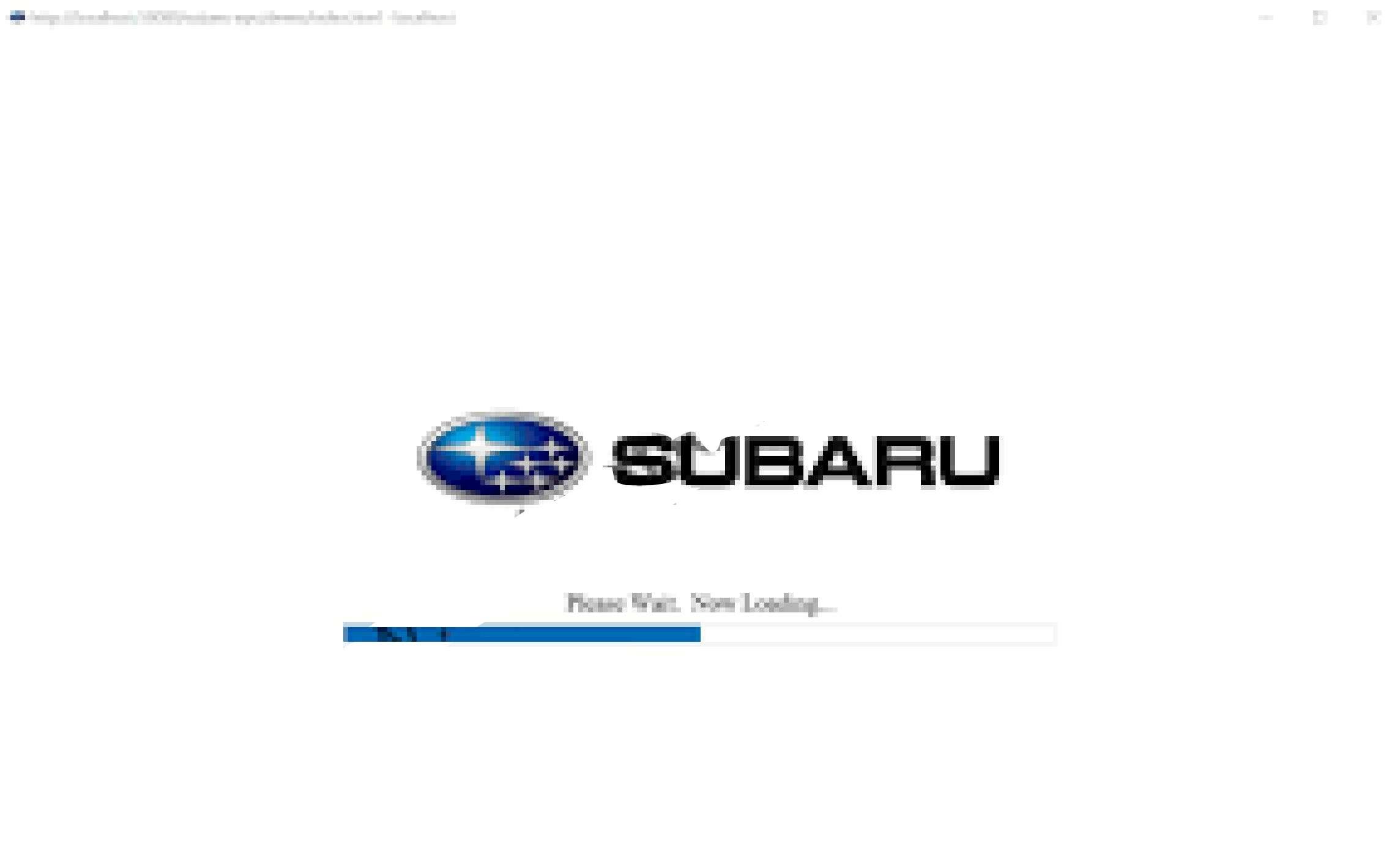 Subaru Fast 3 EPC Europe General 01.2020 ss-01