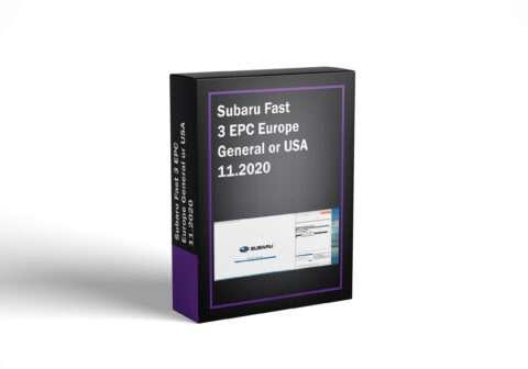 Subaru Fast 3 EPC Europe General or USA 11.2020