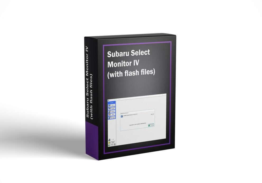 Subaru Select Monitor IV (with flash files)