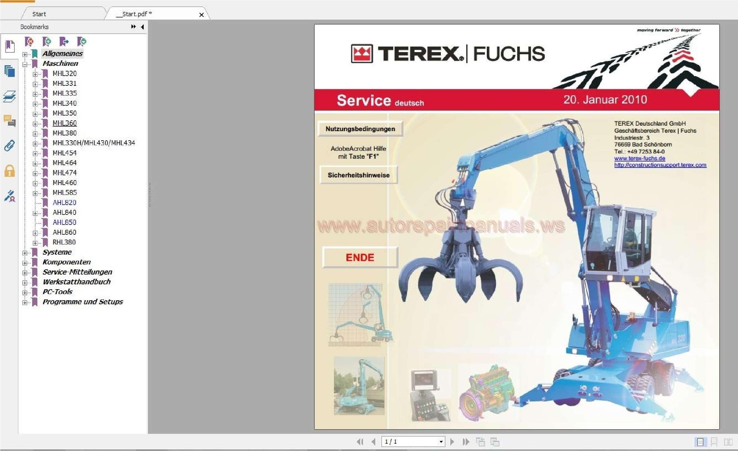 Terex Fuchs EPC ss-01