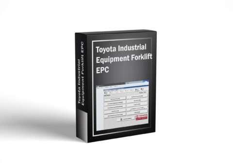 Toyota Industrial Equipment Forklift EPC