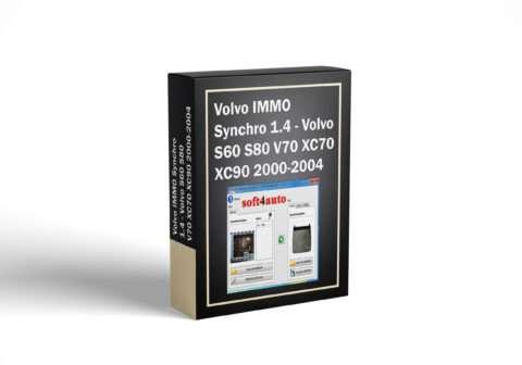 Volvo IMMO Synchro 1.4 - Volvo S60 S80 V70 XC70 XC90 2000-2004