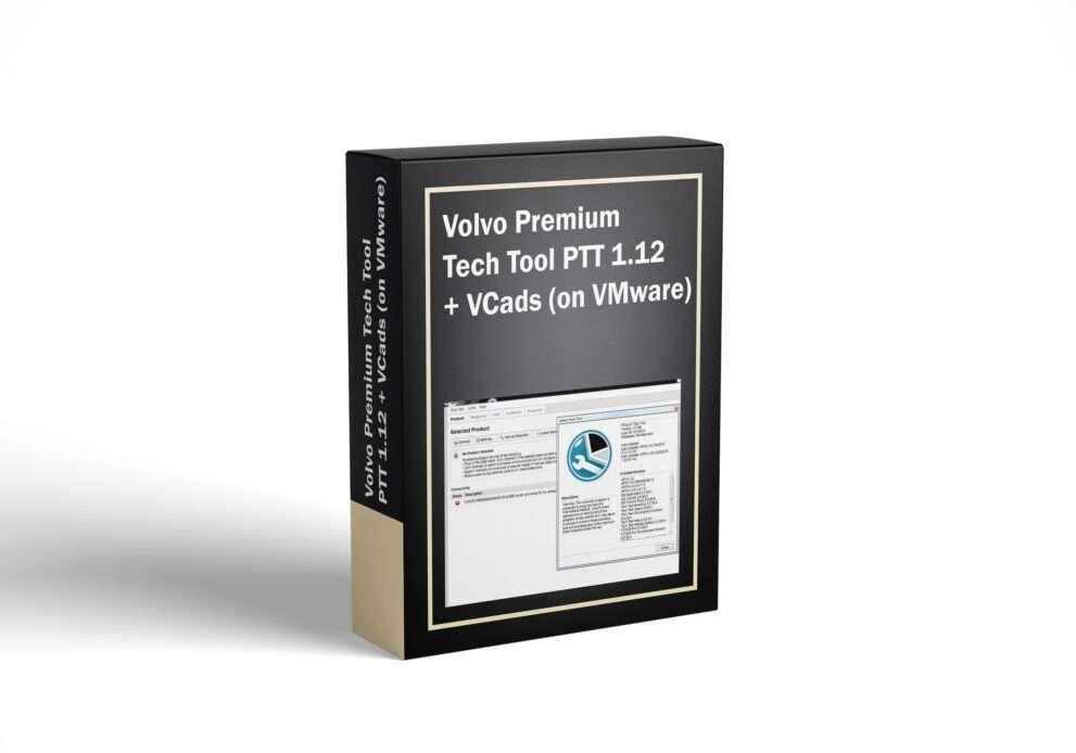 Volvo Premium Tech Tool PTT 1.12 + VCads (on VMware)