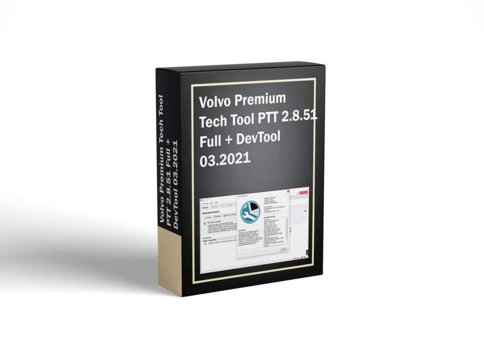 Volvo Premium Tech Tool PTT 2.8.51 Full + DevTool 03.2021