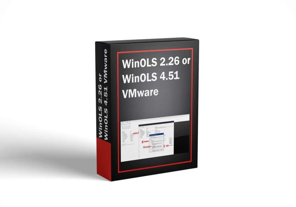 WinOLS 2.26 or WinOLS 4.51 VMware