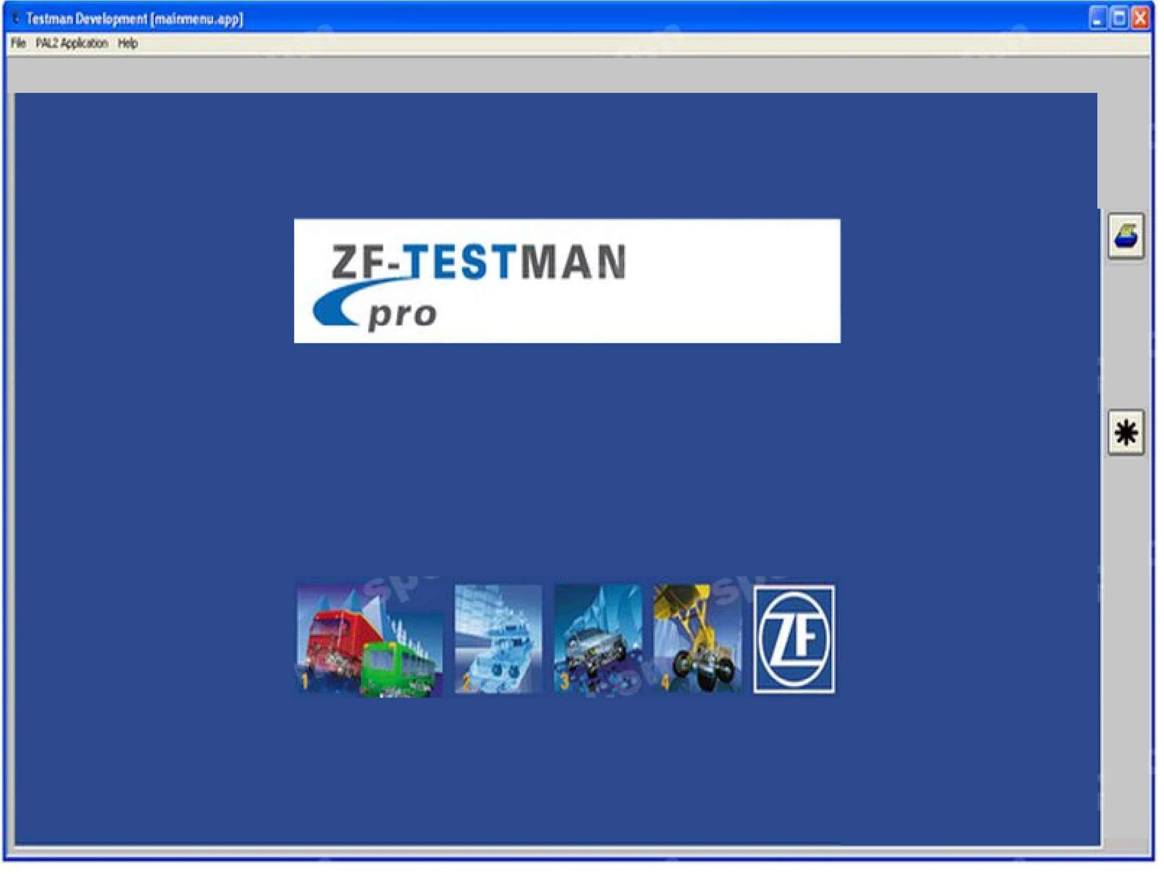 ZF Testman Pro Development 2018 SS-01