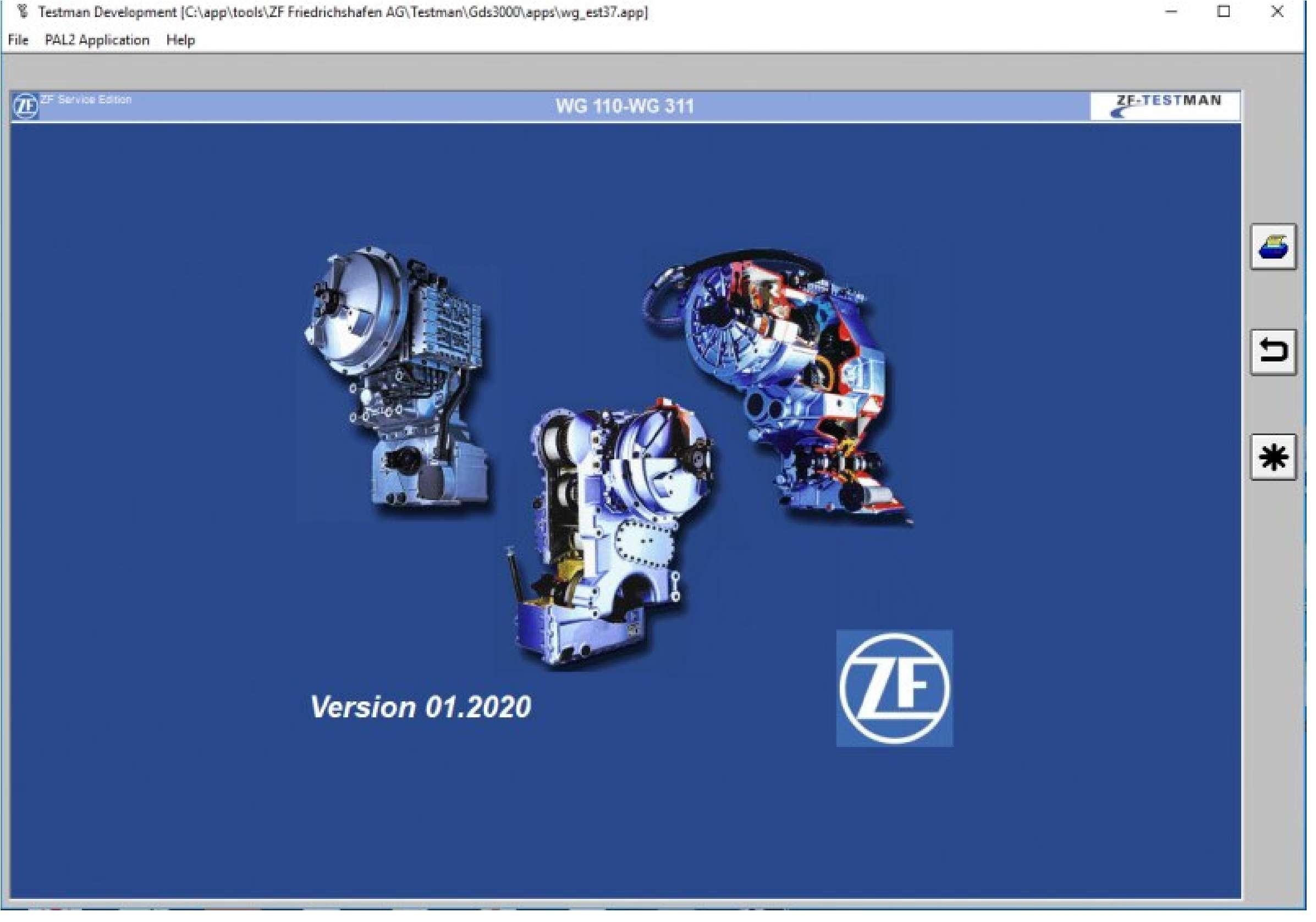 ZF Testman Pro Development 2020 SS-01