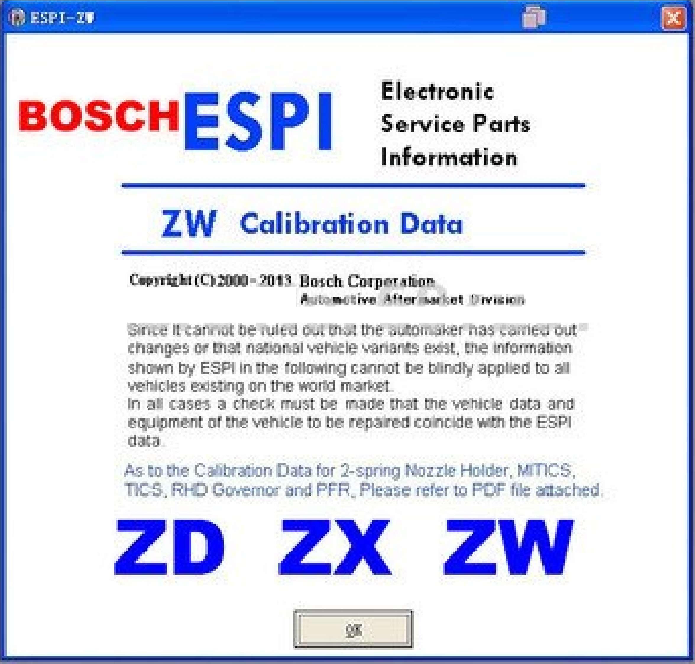 Zexel ESPI ss-01